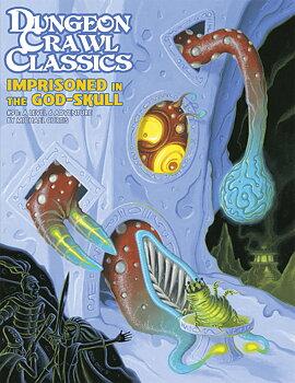 Dungeon Crawl Classics #98: Imprisoned in the God-Skull + PDF