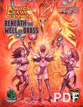 DCC Day #2: Beneath the Well of Brass + PDF