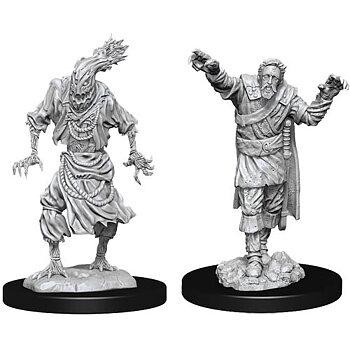 D&D Nolzurs Marvelous Miniatures: Scarecrow & Stone Cursed