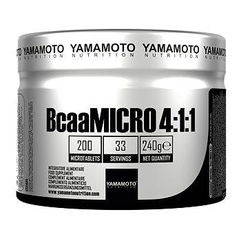 Yamamoto BcaaMICRO 4:1:1 200 tabs