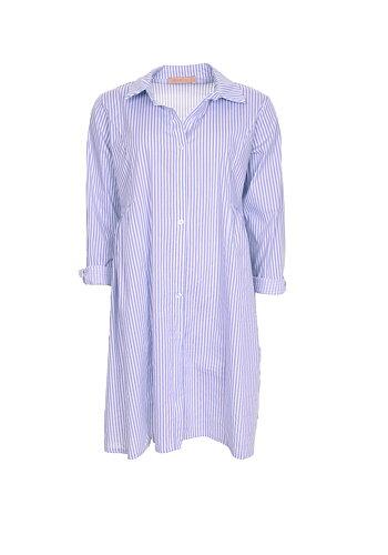 Stripe Tunikaklänning | Light Blue