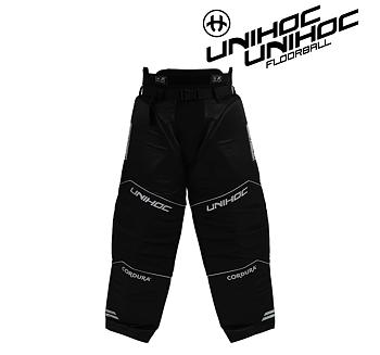 Unihoc Alpha Goalie Pants black/silver