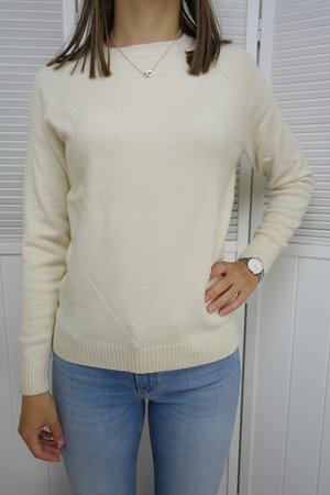 Only - Lesly Pullover Whitecap Grey