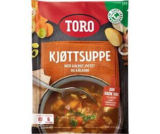 TORO KJØTSUPPE M/GRØNNS. 81G