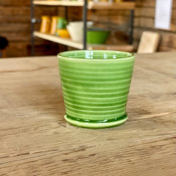 Espressokopp dubbel, grön