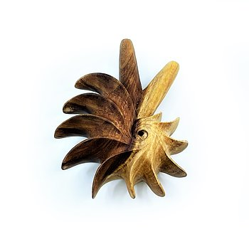 Fibonacci Kuripe - Light Sono Wood