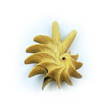 Fibonacci Kuripe - Crocodile Wood