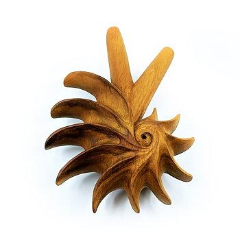 Fibonacci Kuripe - Champak Wood