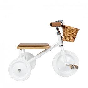 Banwood - Trehjuling Vit