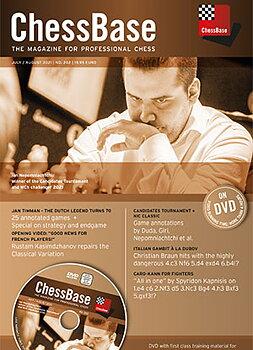 chessbase magazine July / August 2021 nr 202