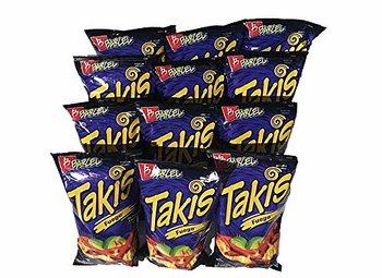 12 bags of Takis Fuego - 68gr. each