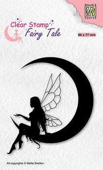 Nellies Choice - Clearstamp - silhouette Fairy Tale
