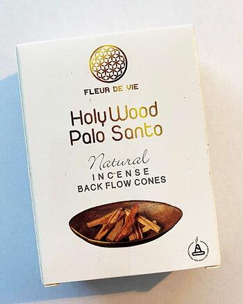 Holy Wood Palo Santo - Backflow Cones