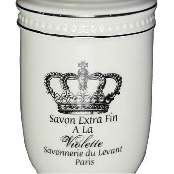 Tvålpump Savons Provence vit shabby chic lantlig stil fransk lantstil