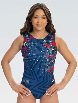 Scattered Stars Replica Workout Leotard