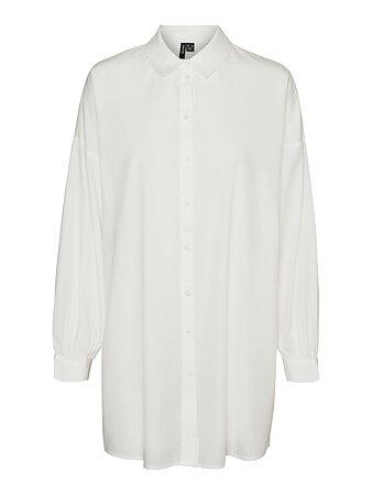 Vero Moda - Bina Oversize Shirt Snow White
