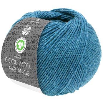 Cool Wool Melange GOTS - 125 Jeansblå melerad