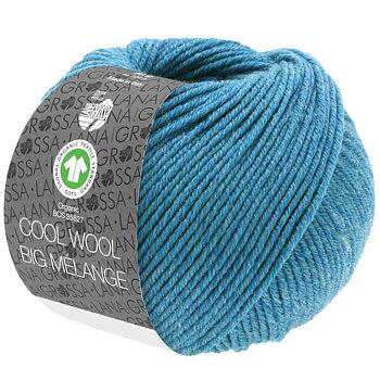 Cool Wool Big Melange GOTS - 225 Jeansblå melerad