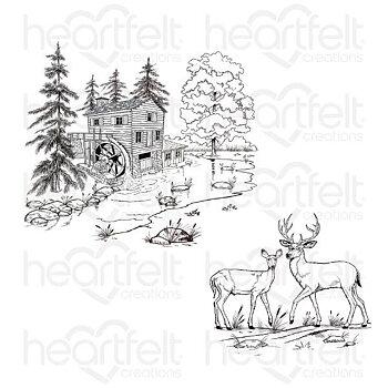 Heartfelt - Stämpelset -  Create a 'scape Wilderness