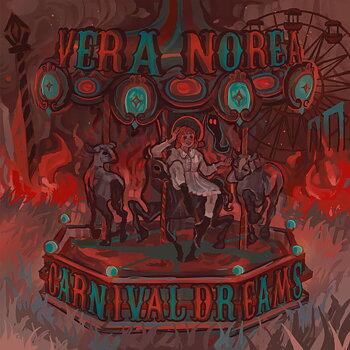 VERA NOREA - Carnival Dreams (Album) röd vinyl