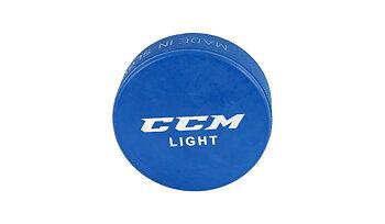 CCM Light Puck Blå PUCK