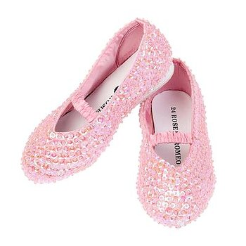Glitter skor rosa , Lily