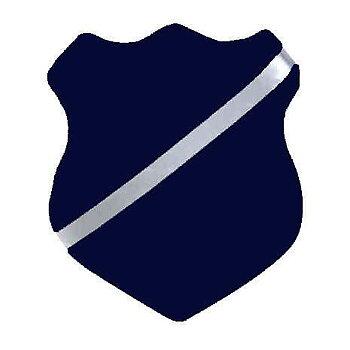 Märkessköld/märkestavla Blå - Robetoy