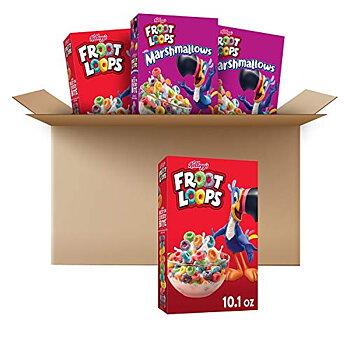 Kellogg's Froot Loops® Cereal. Buy 3 Froot Loops & get 1 free