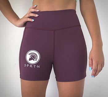 Spartan Hot pant BASIC/Plum