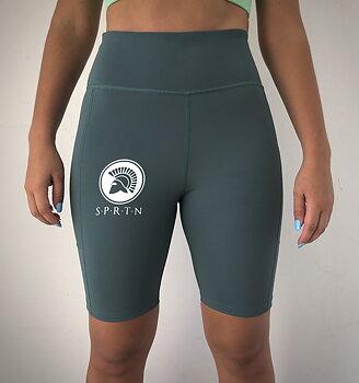 Spartan Biker short BASIC/Dark green