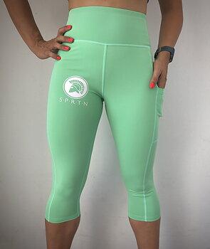 Spartan Capri Leggings BASIC/Light green