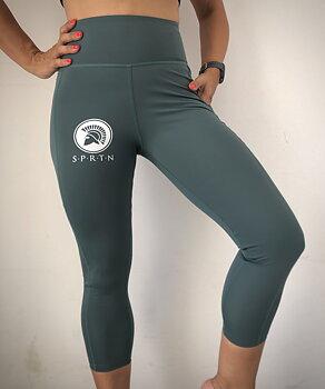 Spartan 3/4 Leggings BASIC/Dark green
