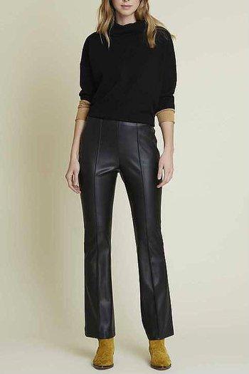 René Derhy - Oberkampf Fake Skin Trousers Black