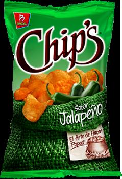 Barcel jalapeno chips