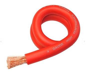 SPAUDIO 25mm² CCA Röd