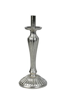 Lampfot Rand Silver (Flera storlekar)