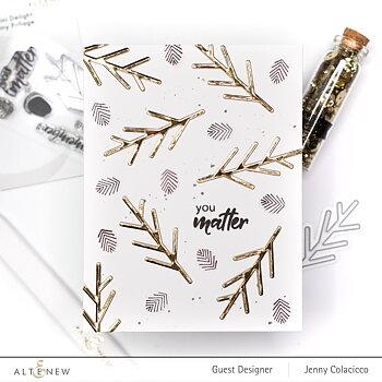 ALTENEW -Mini Delight: Tiny Foliage Stamp & Die Set