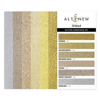 ALTENEW -Glitter Cardstock Set - Gilded