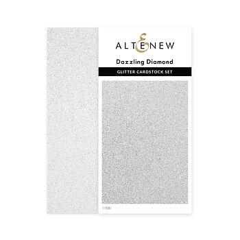 ALTENEW -Glitter Cardstock Set - Dazzling Diamond