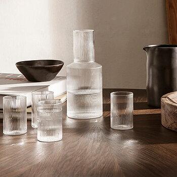 Ripple Verrines glas - ferm Living (4-pack)