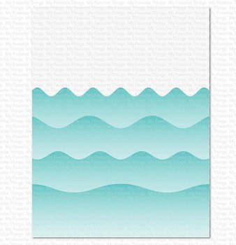 My Favorite Things -MSTN Summer Waves Stencil