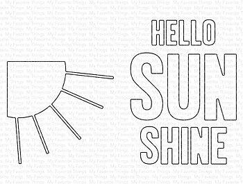 My Favorite Things -MSTN Hello Sunshine Die-namics
