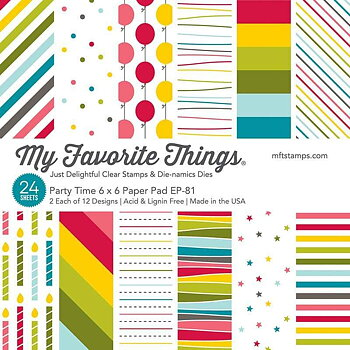 My Favorite Things -Party Time Paper Pad