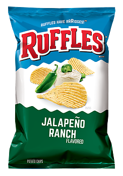Ruffles with Jalapeno Ranch flavor