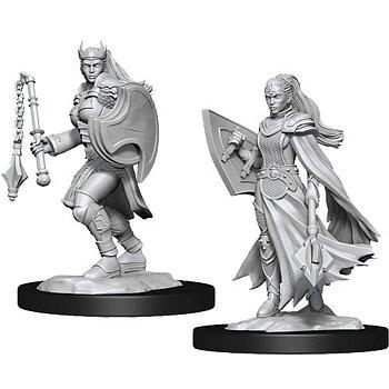 D&D Nolzurs Marvelous Miniatures:  Female Kalashtar Cleric
