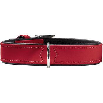 Hunter Softie Halsband, Röd/svart