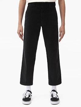 Dickies Women 874 Crop Cord Pant Black