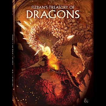 D&D Fizban's Treasury of Dragons Alt Cover HC