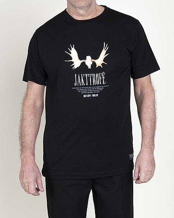 Jakttrofé Svart T-Shirt