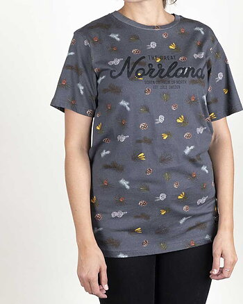 The Great Norrland Branch Grå T-Shirt